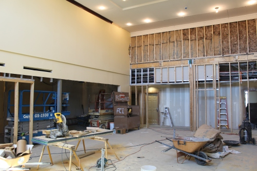 New Breakfast Area - Former Lobby