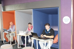 07 Quiet Lobby Work Spaces